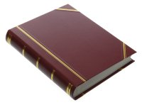 Burgundy Portrait Photograph Album - 12